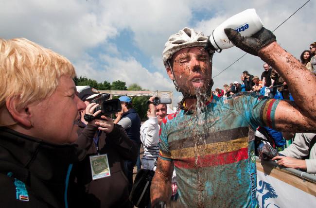 Sven Nys si mohl po závodě oddechnout, desáté místo mu zajistilo start na OH
