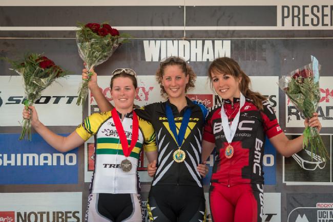 podium U23 ženy