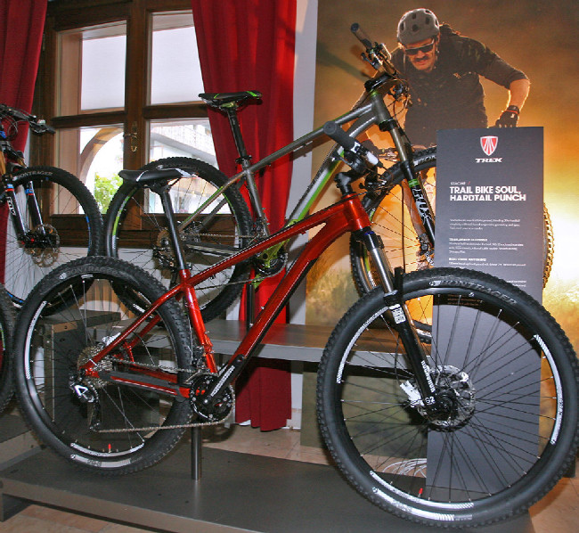 Trek 2013 press launch