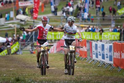 Christoph Sauser dojíždí svůj poslední závod SP