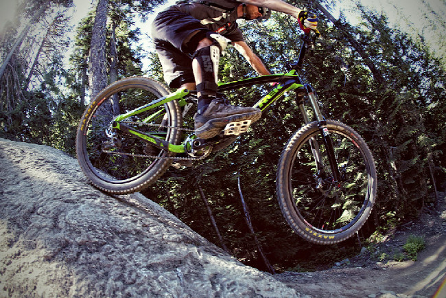 Sram XX1 test ve Whistleru