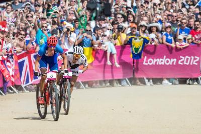 Jaroslav Kulhavý spurtuje pro olympijské zlato
