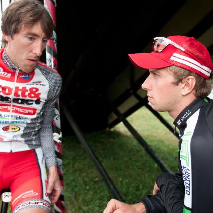 Milan Spěšný se svým svěřencem Ondrou Cinkem