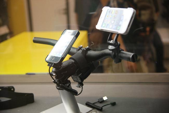 iPhone na MTB
