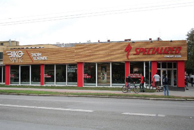 Specialized Concept Store Radima Kořínka v Ostravě