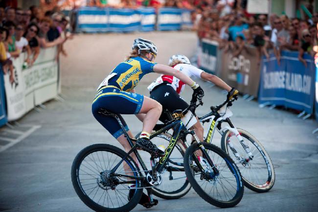 Sprint Eliminator - souboj mezi Engen a Neff