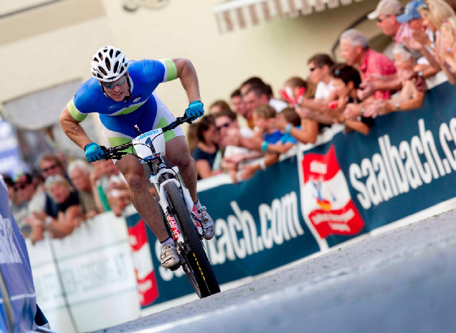 Sprint Eliminator - Miha Halzer, foto: Michal Sváček