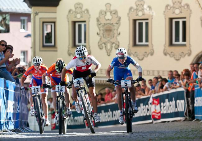 Sprint Eliminator - Jolanda Neff, foto: Michal Sváček