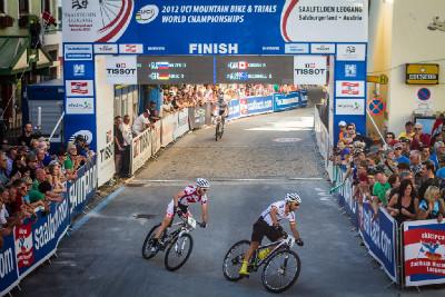 Fotogalerie: Mistrovství světa MTB 2012 - Sprint Eliminator
