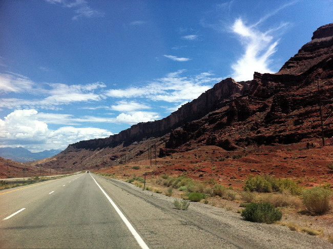 Moab 2012 cestou