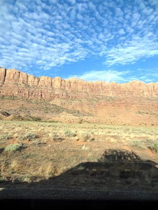 Moab 2012 ranní start na bikování