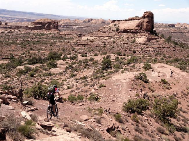 Moab 2012 odpoledne kdesi za polovinou