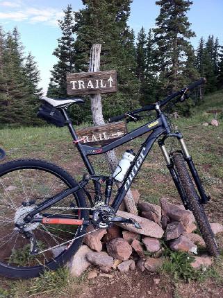 Moab 2012 můj bike