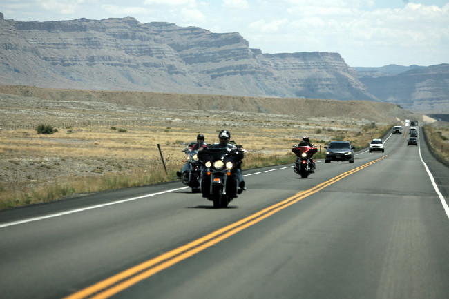 Moab 2012 cesta ze Salt Lake