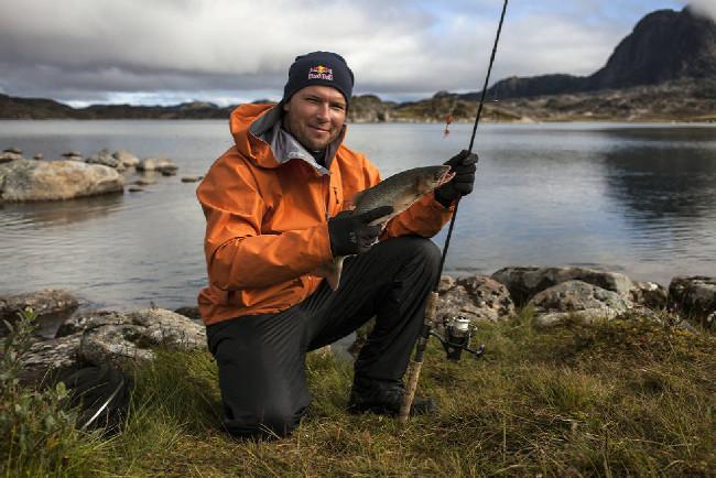 Petr Kraus v Grónsku na rybách