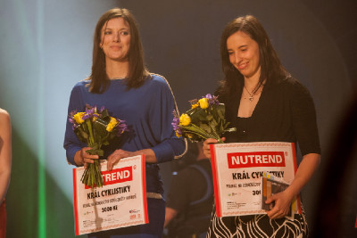 bikrosařky Aneta Hladíková a Romana Labounková
