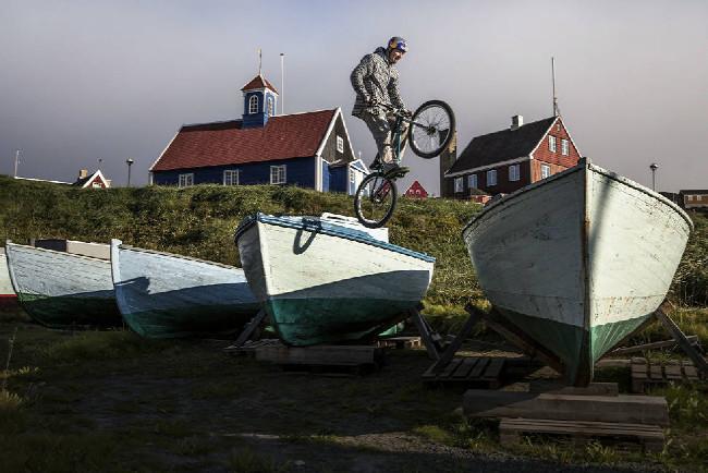 Petr Kraus v Grónsku - trial před rybolovem