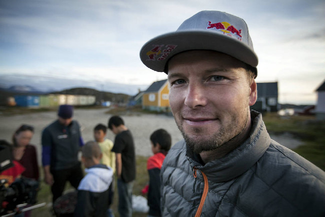 Petr Kraus v Grónsku