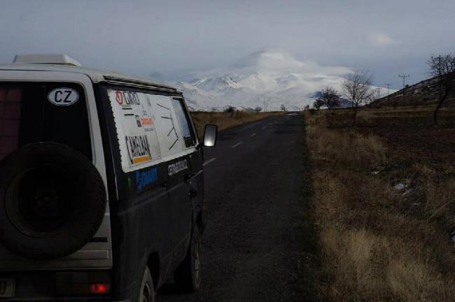 cesta do hor - Turecko