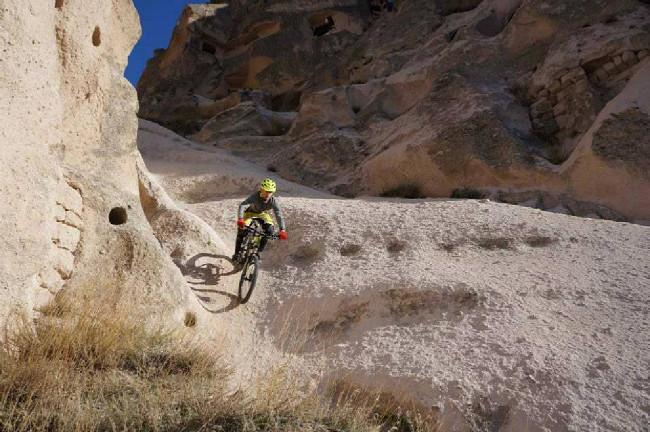 Bikování v Kapadokii