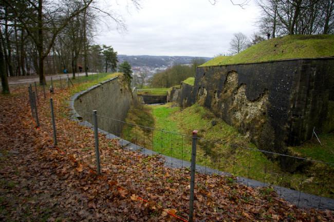 Hradby ve valonské částe Belgie v Namuru