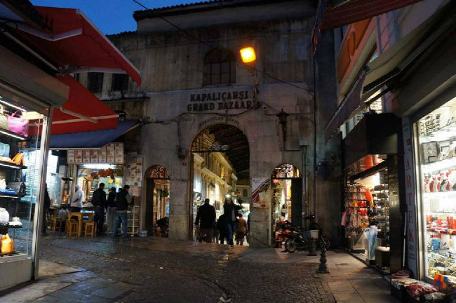 Grand Bazaar - Istanbul - Turecko