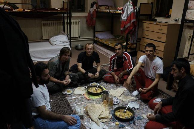 s tureckými záchrannáři