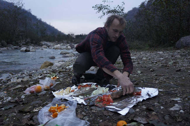 příprava štědrovečerní večeře