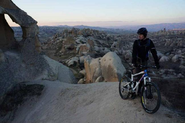 Biking v Kapadokii