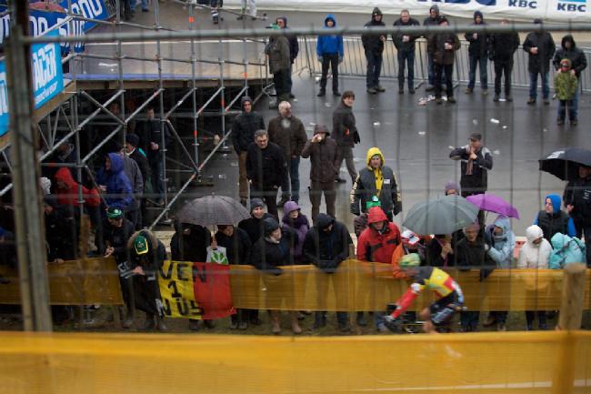 Fotogalerie: Světový pohár cyklokrosu, Zolder 2012