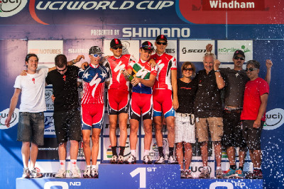Burry Stander a nejlepší bikový tým (SP Windham 2011)