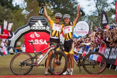 Burry Stander a Christoph Sauser konečně vyhrávají Cape Epic!