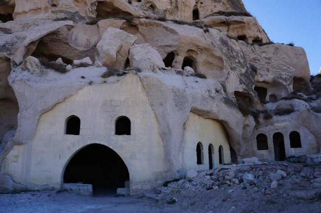 Kapadokie kostel - Turecko