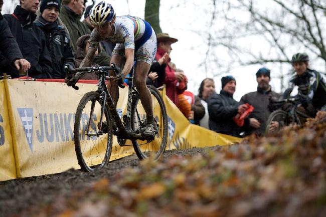 Fotogalerie: Světový pohár cyklokrosu, Namur 2012