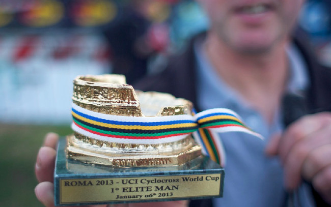 Fotogalerie: Světový pohár cyklokrosu, Řím 2013