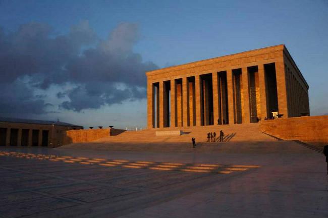 Atatyrkovo mauzoleum - Ankara Turecko
