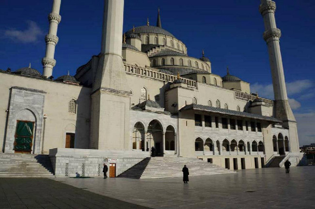 Mešita v centru Ankary