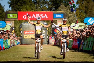 Burry Stander a Christoph Sauser obhajují triumf na Cape Epic 2012