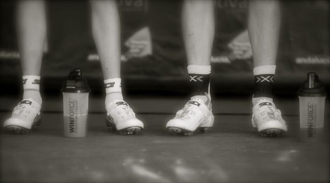 nohy vítězů - Ondřej a Thomas