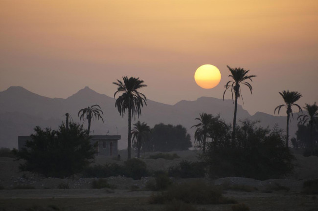 východy slunce tu jsou impozantní