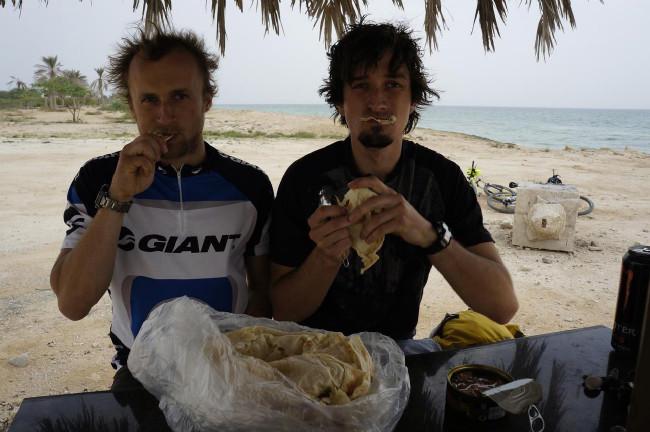 občerstvení na pláži