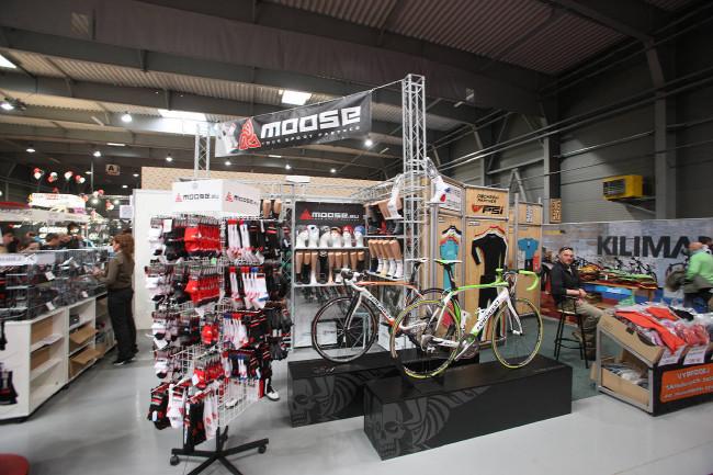 Expozice na veletrhu ForBikes 2013
