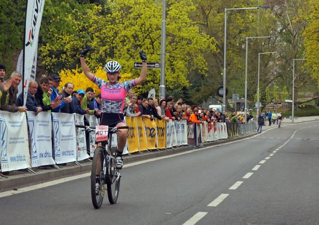 ČP XC #1 Teplice - vítězska Jitka Škarnitzlová