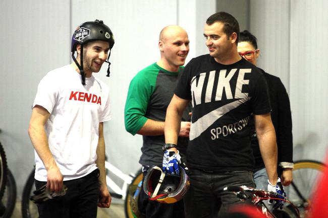 ForBikes PumpTrack race 2013 Říha a Prokop