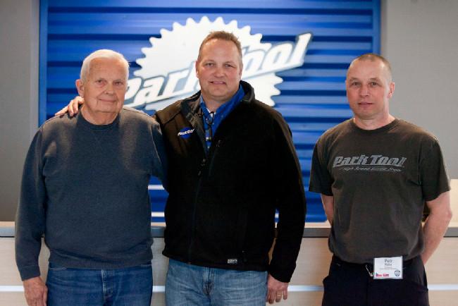 zleva: Howard Hawkins, Erik Hawkins a Petr Kuba