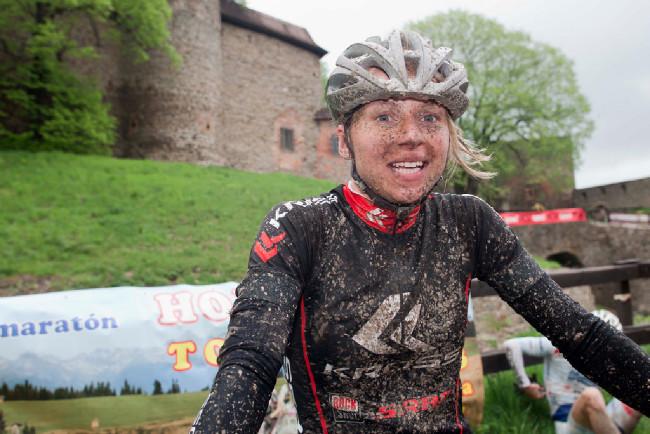 Vítěz dlouhé Šely Polka Michelina Ziolkowska