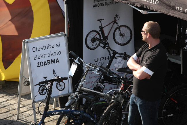 Festival Město na kole 2013