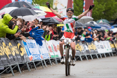 Eva Lechner vítězí
