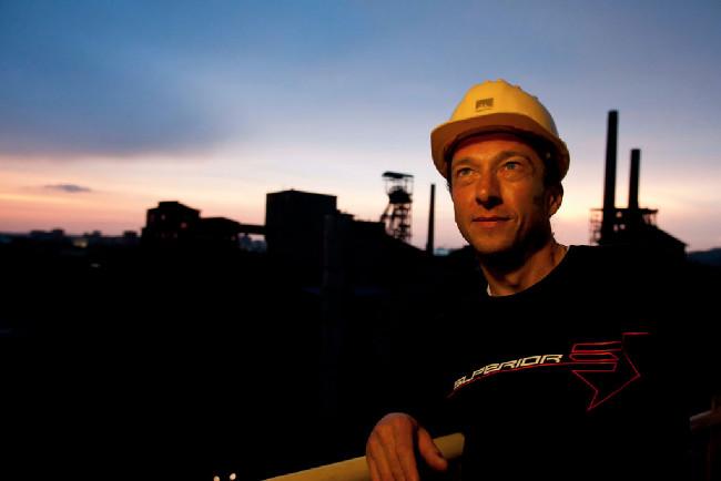 Bart Brentjens ve Vítkovických železárnách
