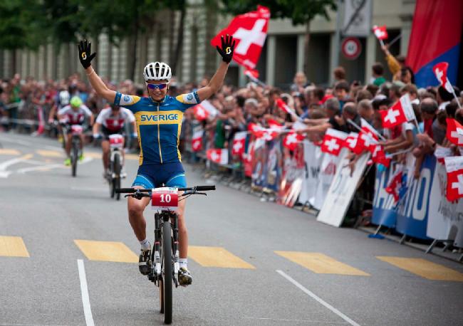 Jenny Rissveds slaví vítězství